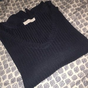 Cozy V-Neck Thermal Waffle Top